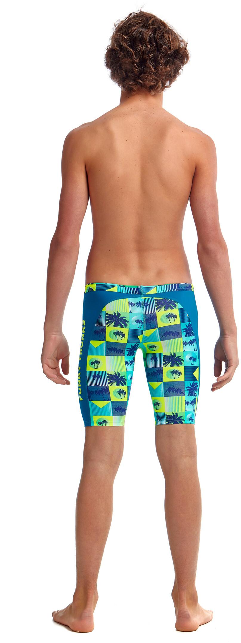 Funky Trunks Boys Pop Tropo Training Jammer Swimwear Boys Swimsuit